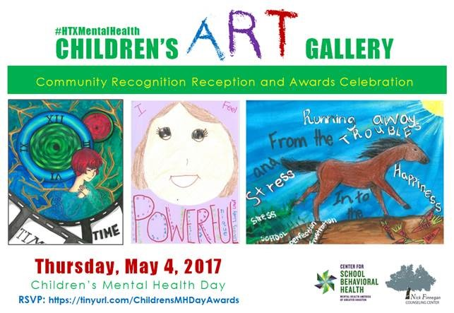 2017 #HTXMentalHealth Children's Art Contest